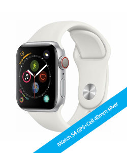 iWatch S4 40mm GPS+CELLULAR Silver