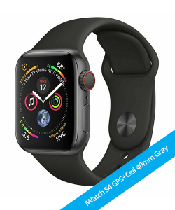 iWatch S4 40mm GPS+CELLULAR Space Gray